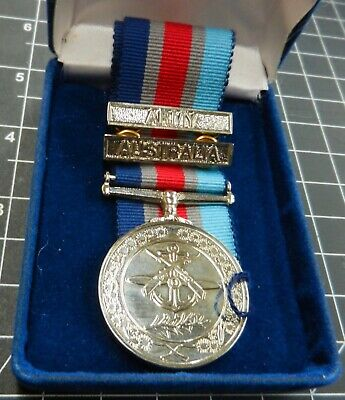 Regular Forces Medal unofficial type with 2 bars.
