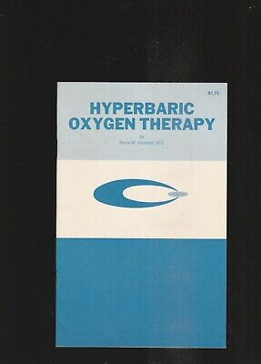 Hyperbaric Oxygen Therapy 1980 Brochure