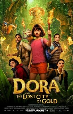 Dora And The Lost City Of Gold DVD - BRAND NEW! FREE SHIP!