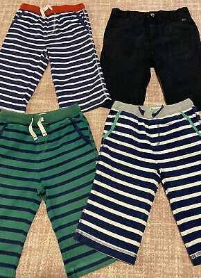 💙Mini Boden Boys Jersey Baggies Shorts Bundle X4 Pairs - Suit Age 7 8 9 Years💙