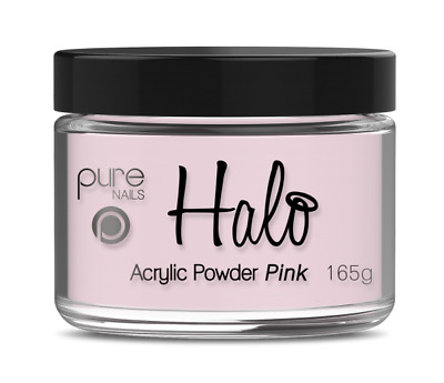 Halo By Pure Nails Acrylic Powder PINK - Large 165g Pot
