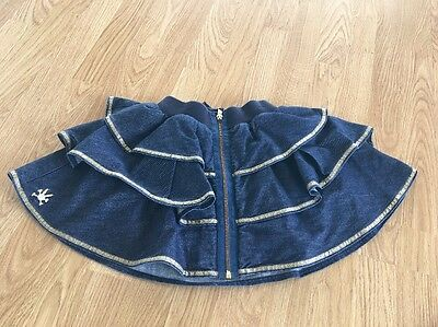 No Added Sugar Denim Gold Trim Skirt Age 7-8