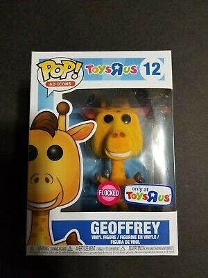 Funko POP! Geoffrey Toys R Us Exclusive Flocked Vinyl Figure #12 Ad Icons