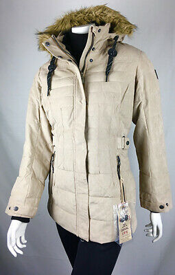GIGA DX BY Killtec Damen Winter Jacke, Parka Gr. 42 L Braun