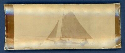 Ice Sailboat Antique Photo Sailing Racing Late 1800's, Early 1900's Unusual Size