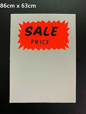 96 REDUCED FROM TO Sale Cards 3x2 Price Tickets Label Discount Shop Pricing Sign