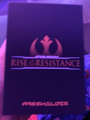 Disney Star Wars Rise Of The Resistance Annual Pass holder Magic Band  LE 3000