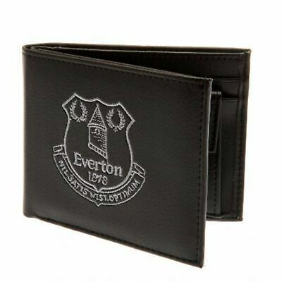 Everton FC Official Mens Embroidered Football Crest Wallet (SG10011)