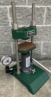 Carver Press C 12 Ton Max Laboratory Hydraulic Lab Bench Top Excellent Condition