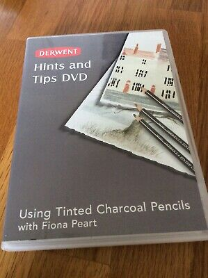 Derwent Hints and Tips using Tinted Charcoal Pencils with Fiona Peart