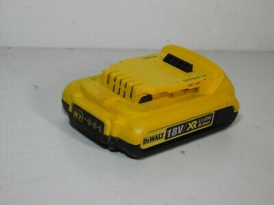 DeWalt DCB183 18V 2.0Ah 36WH Lithium Ion Battery fully working good condition