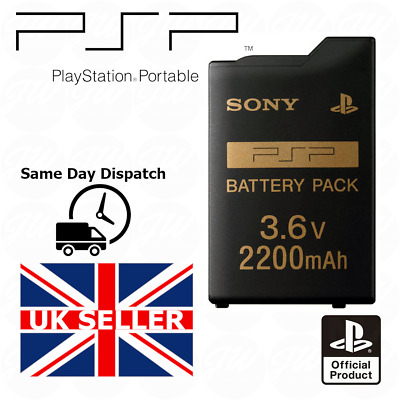 Official Genuine Original Sony PSP 1000 2000 3000 Battery 2200mAh - UK