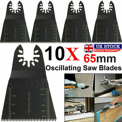 10 X Oscillating Saw Blades Multi Tool For Makita Fein Dewalt Multimaster Bosch