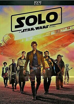 Star Wars: Solo DVD - BRAND NEW! FREE SHIP!