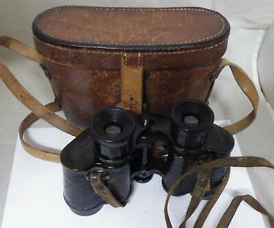 Tel.Jago 6 x 30 cased binoculars,retailed by Vaughan of The Strand