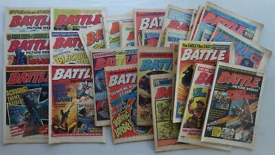 Battle Picture Weekly comic 1976 x 52 FULL YEAR Most VG+ (phil-comics)