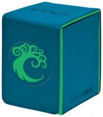 Ultra Pro Deck Box Alcove Flip Box - Simic MINT