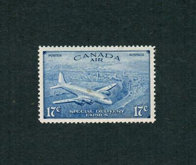 1946  # Ce3  Air Mail Special Delivery (È) -  Mint  Canada Stamps  Error Issue