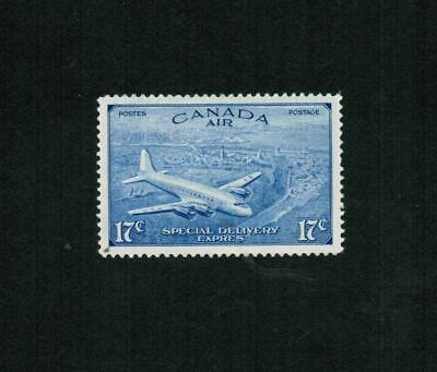 1946  # Ce4  Air Mail Special Delivery (Ê) -  Vfh  Canada Stamps  Revised Issue