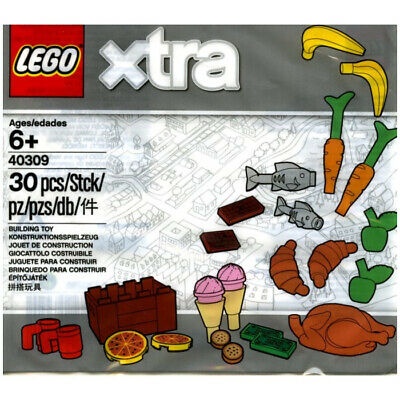 Lego Xtra 40309 - Food Accessories - Polybag - New & Sealed