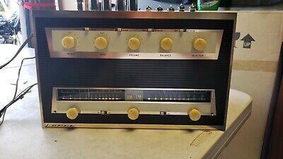 Bell sound pacemaker Integrated Tube Amplifier 2221 & tuner 2222 pg