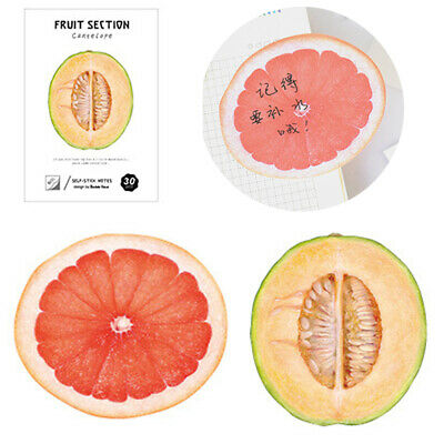 Reusable Fruit Pattern Leaving Message Note School Office Stationary