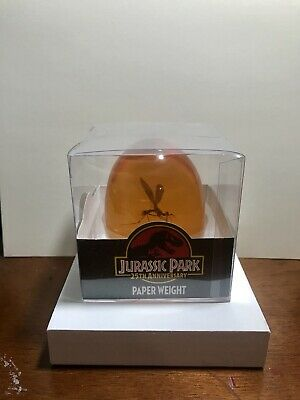 Jurassic Park 25th Anniversary Mosquito In Amber Paper Weight. NEW In Box