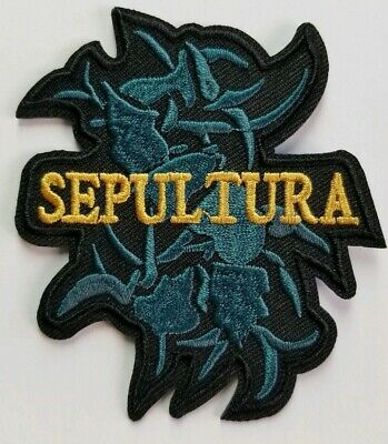 Sepultura tribal logo   embroidered  IRON ON , OR SEW  PATCH