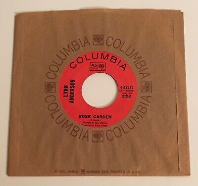 Lynn Anderson / Rose Garden & Nothing Between Us / Columbia '70 45 NM+