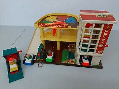 Beau design magasin une performance supérieure VINTAGE FISHER-PRICE LITTLE People GARAGE 930 REPLACEMENT ...