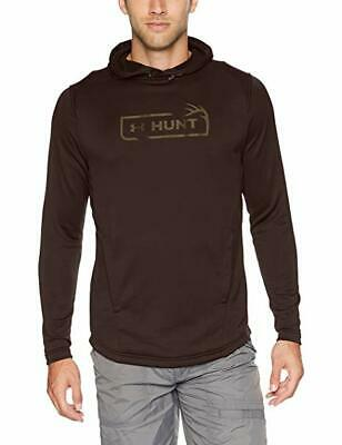 Under Armour Men's Maverick Brown UA Tech French Terry Hunting Pullover Hoodie