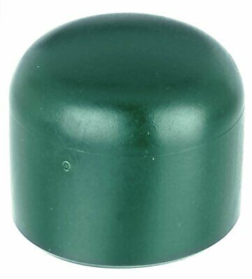 Post Cap for Round Metal Posts 34 mm grn