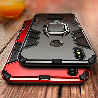 Hybrid Shockproof Armor Cover Case For Huawei Y6 2019 P30 Pro Lite P Smart 2019