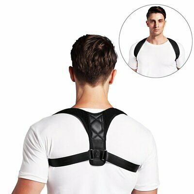 Posture Clavicle Support Corrector Brace Back Straight Shoulders Strap F#