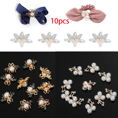Bow Accessories Scrapbooking Flower pearls sewing button Rhinestone Bee