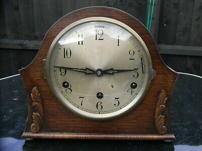 Edwardian Mantle Clock / Westminster Chimes