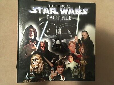 Star Wars Fact File colección en perfectas condiciones (casi completo)