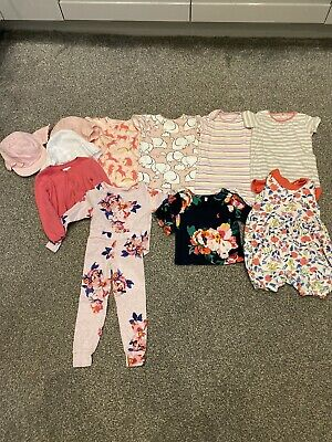 Bundle Baby Girls Clothes Joules & Next 12-18 Months Immaculate