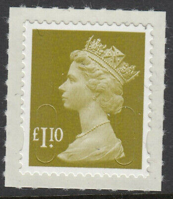 GB 2012 £1.10 SELF ADHESIVE MACHIN CODE M12L MNH From Counter Sheet but UNISSUED