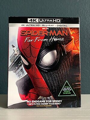 Spider-Man: Far From Home (2019, 4K Ultra HD Blu-Ray, 2 Discs)