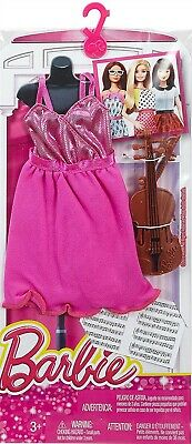 ~DNT94 Barbie FASHIONISTAS CAREERS I CAN BE Musician Violin Player 2015 Mattel