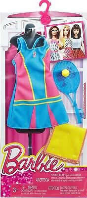 ~DNT95 Barbie FASHIONISTAS CAREERS I CAN BE Tennis Player Pro 2015 Mattel NRFP