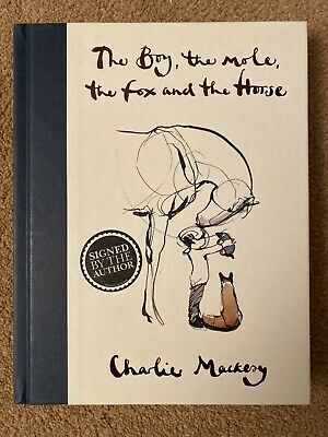 The Boy, The Mole, The Fox and The Horse: SIGNED Edition Charlie Mackesy Book