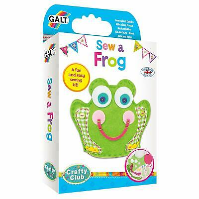 Galt Toys Sew A Frog Sewing Kit, Craft Kits for Children