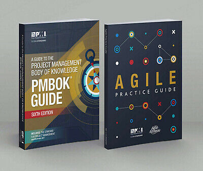 PMBOK PMI Guide 6th Edition 2018 + Agile Practice Guide +1440 PMP Question Bank