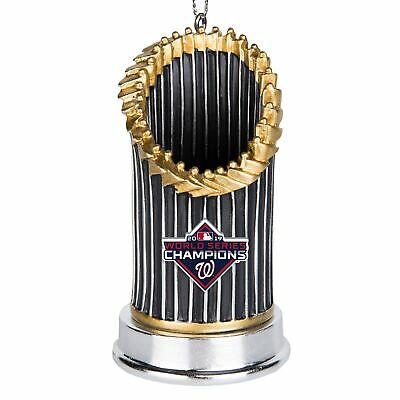 MLB Washington Nationals 2019 World Series Champions Trophy Ornament - IN STOCK