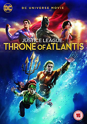 Justice League: Throne Of Atlantis [DVD] [2018], Good DVD, , Ethan Spaulding