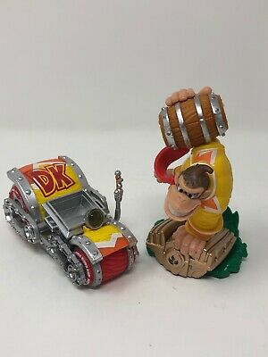 Turbo Charge Donkey Kong & DK Vehicle Skylanders SuperChargers Amiibo Wii U 3DS