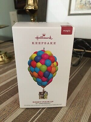 Hallmark Keepsake Disney-Pixar UP 10TH Anniversary Magic Ornament 2019 NIB