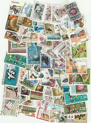 Worldwide 250 Different Used Stamps